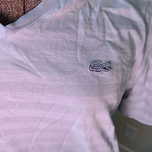 Lacoste V Neck — size medium